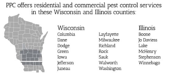 pest control county map